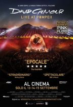 DAVID GILMOUR LIVE AT POMPEI